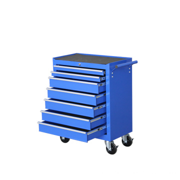 Seven Drawer Tool Cabinet with Wheels