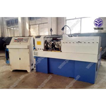 Wood screw thread rolling machine