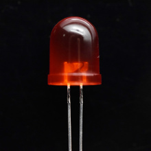10mm Ultra-high Brightness Red LED Diffused 60 Degree
