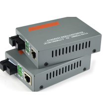 Lan Gigabit Ethernet Cat5 Fiber Optic Media Converter