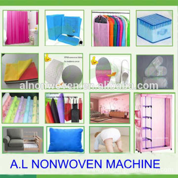 Plastic non woven fabric making machine with low price