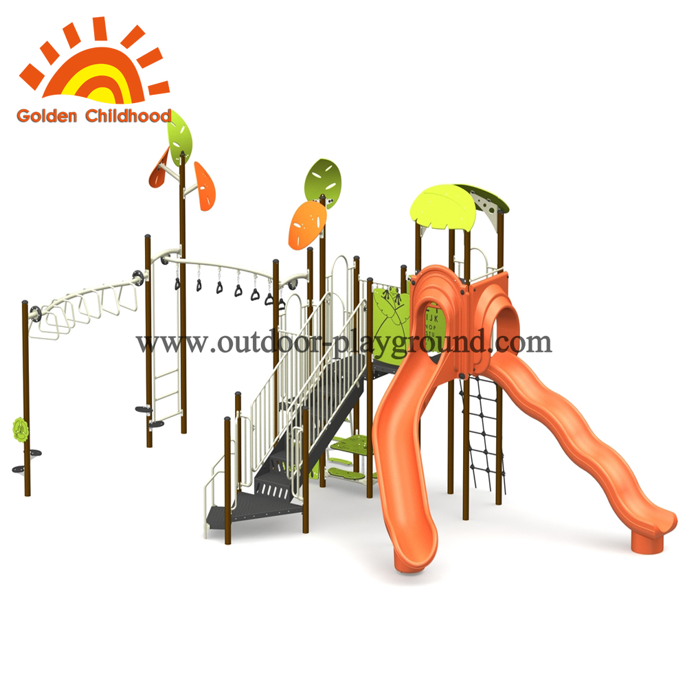 Maple Leaves Style Outdoor Playground