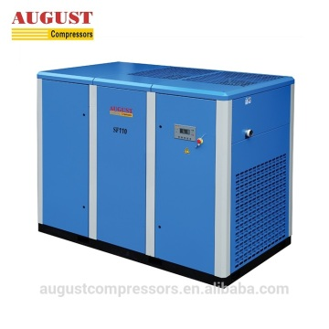 110KW 150HP stationary air cooled screw air compressor