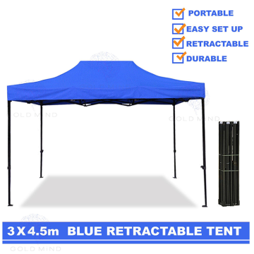 Easy Up Fold 3x4.5 Pop Up Gazebo Canopy