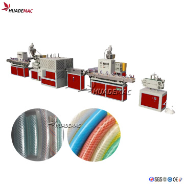 Soft PVC Garden Fiber Hose Making Machine