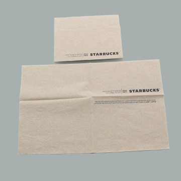 Recycled Brown Paper Napkins