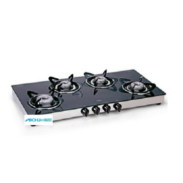 4 Alloy Burners LPG Gas Stove