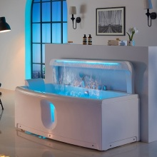 Acrylic Hot Tub Waterfall Massage Function