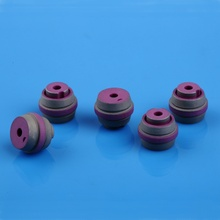 Pink Alumina Ceramic Metallized Tino
