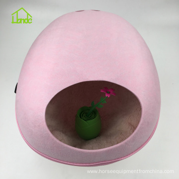 Factory Felt Flower Shaped Pet Nest for Dogs