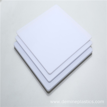 UV resistance light diffuser polycarbonate sheet white