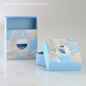 Simple Fold Card Boxes For baby Wear Packaging