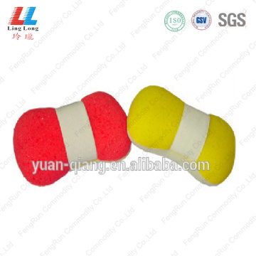 Basic oval goodly bath sponge