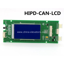 HIPD-CAN-LCD LOP Display Board for Hyundai Elevators