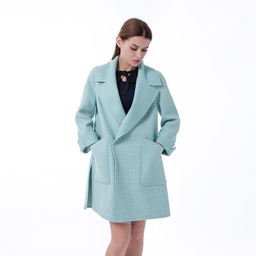 New Green cashmere winter coat