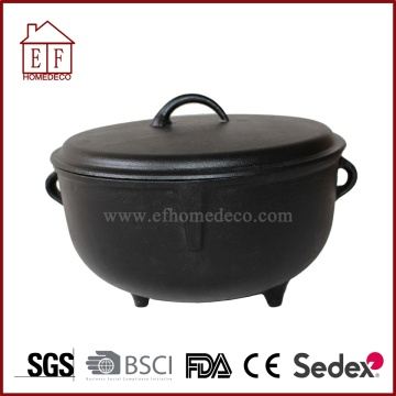 Pre-seasoned Cast Iron Jambalaya Pot 2.5 Gallon