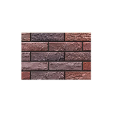 Exterior thin brick veneer for walls