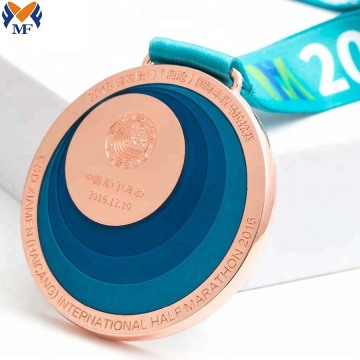 Best custom half marathon medals for sale