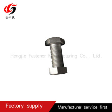 High strength grade12.9 steel structure hex bolt