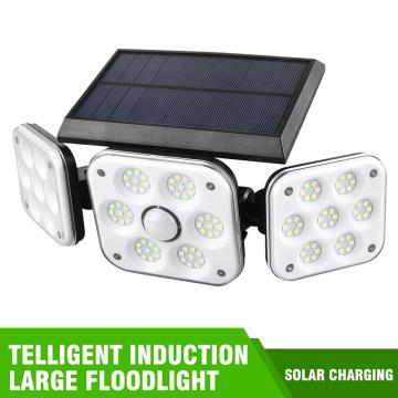 138 LED Solar Light Outdoor Waterproof Solar Powered Lamp PIR Motion Sensor Street Light for Garden Decoration Christmas Decor
