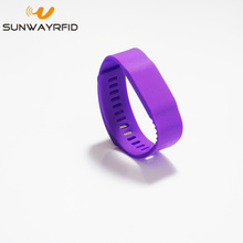 ISO14443A 13.56Mhz NFC Ntag216 RFID Silicone Wristband