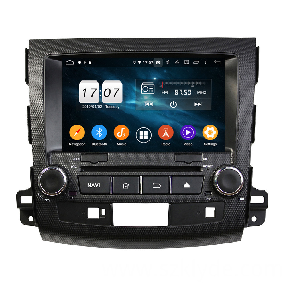 Android Head Units for Outlander