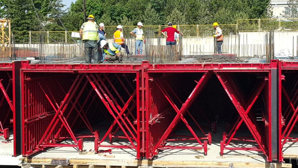 Tunnel Structure Formwork