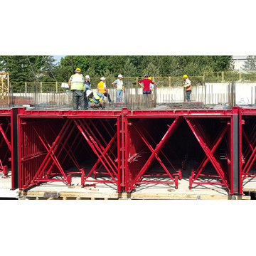 Length Customized Standard Simple Tunnel Structure Formwork