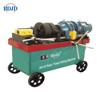 Rebar Rib-stripping and Rolling Parallel Thread Machine