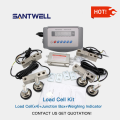floor scale set load cell weighing indicator
