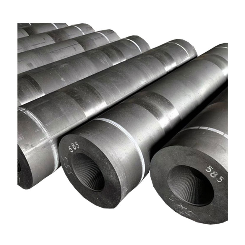 Resistance Less than 5.5 Ωm UHP450mm Graphite Electrode
