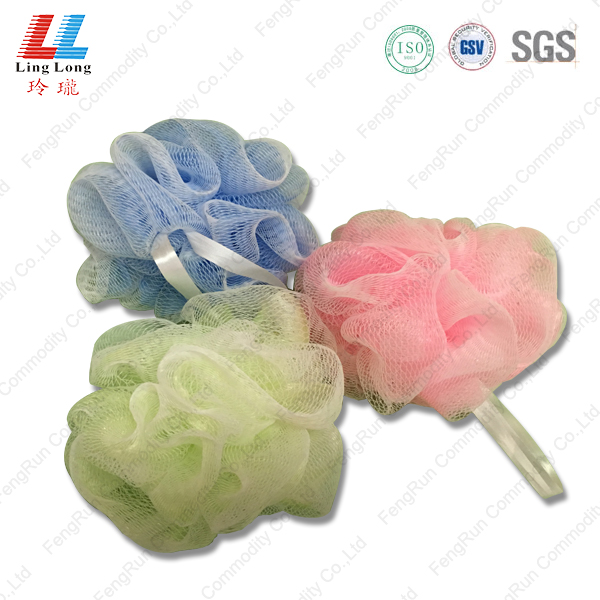 Soft touch basic single bath puff sponge