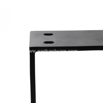 Heavy duty iron pub desk legs
