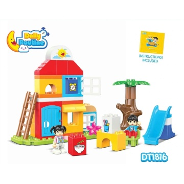 Creative Building Block Toys for Little Kids