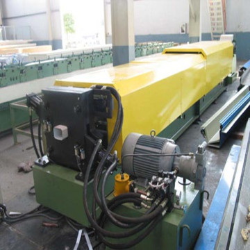 Aluminum downpipe gutter roll forming machine