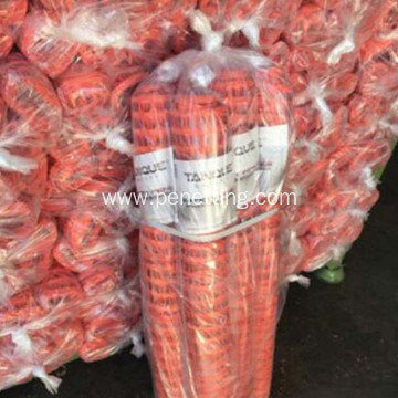 road work barrier orange plastic Safety Fence Net