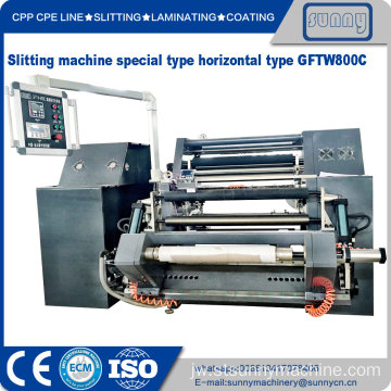BOPP PE Film Roll Slitting Machine