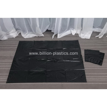 Extra Large Black Plastic Garbage Packing  Bags