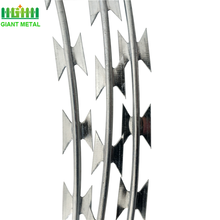 Hot Dippped Galvanized Low Price Razor Barbed Wire