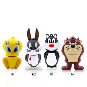 Crow Radish Rabbit Duck Lion Cat USB