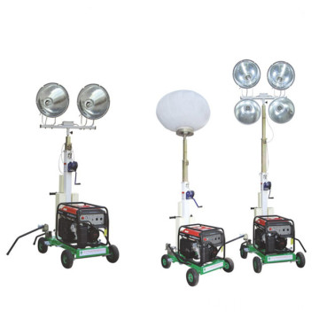 Portable Led Tower Light Price Mobile Light Tower with Diesel Generator FZM-400A