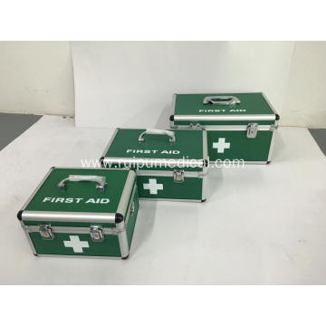 Aluminum Alloy First Aid Box with Locks and Handle