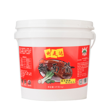 sweet bean sauce 5kg plastic drum