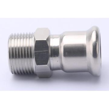 SUS 304 Wholesale Male Coupling Press Fitting