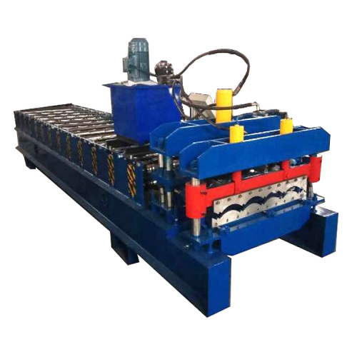 Glazed Tile Panel Steel Roof Roll Forming Machine