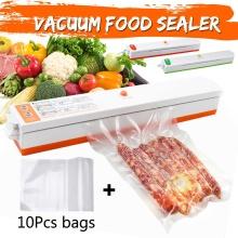 220V Vacuum Food Sealer Machine Vacuum Sealing Machine Film Container Household Food Sealer Saver Include with Vacuum Packer