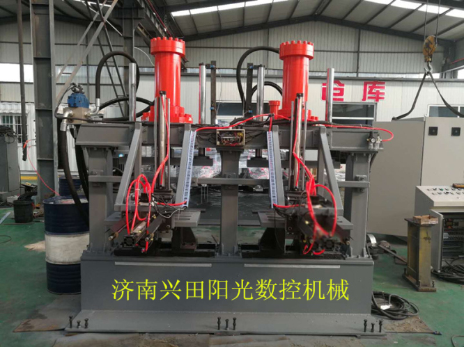 CNC Angle Embrace Hoop Hold Punching Machine