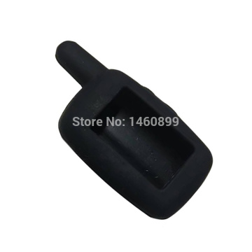 10PCS/lot Silicone Key Case for 2 Way Car Alarm System LCD Remote Control Key Chain Starline A6 A9 A8 A4 Keychain 10 PCS