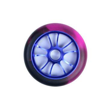 Custom 110mm Alloy Core Scooter Wheels