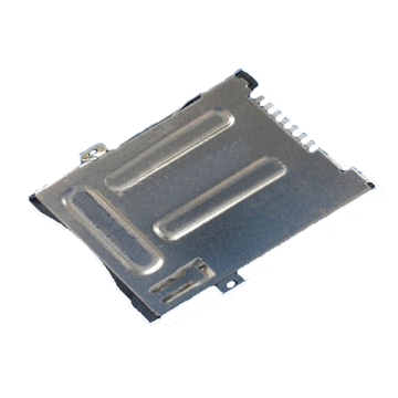 SIM Series 8Pin 2.4MM Push Type Connector
